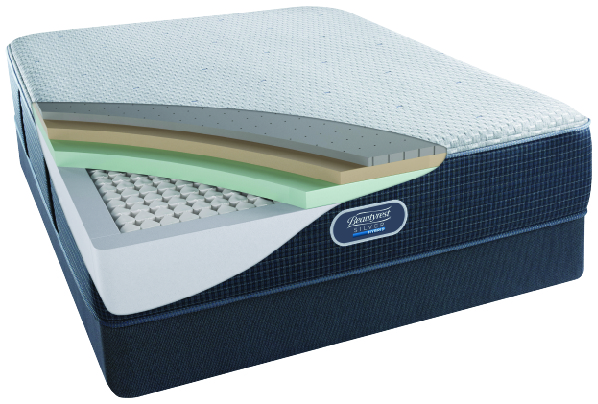 beautyrest hybrid silver mattresses